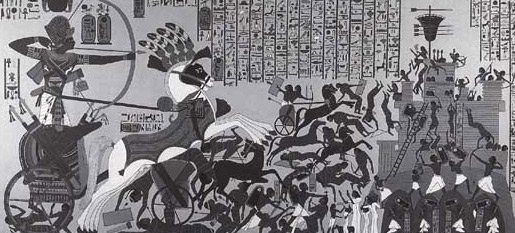 Ramesses II at the Siege of Dharpur