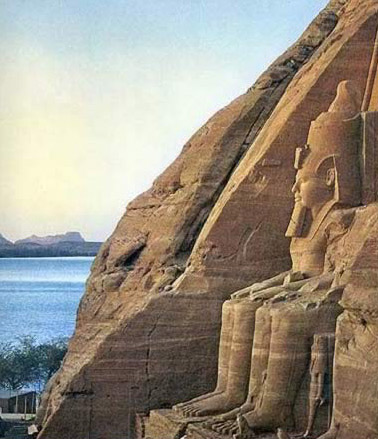 Dawn at Abu Simbel