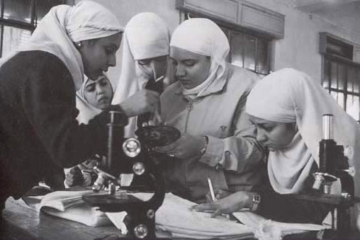Women Students at Cairo University
