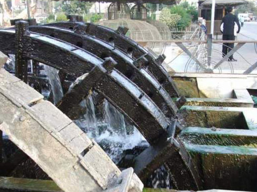 Waterwheels at Fayoum