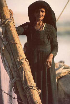Woman on a Felucca