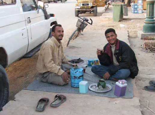 Tea Break Siwa Style
