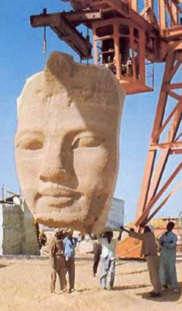 Abu Simbel Salvage Operation