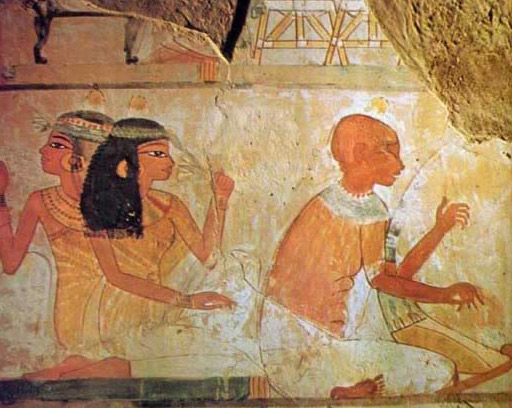 Scene From the Tomb of Nakht