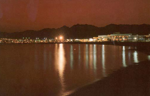 Naama Bay at Night