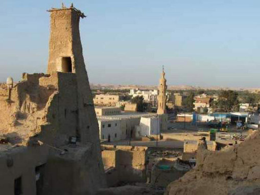 View of Siwa From Shali