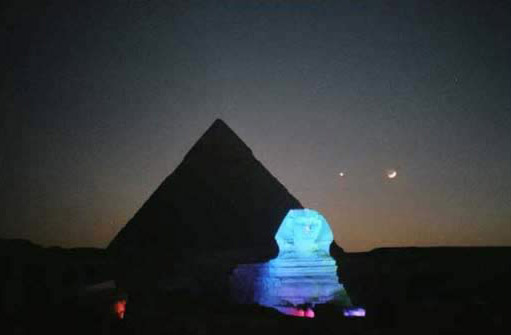 Planets Above the Sphinx