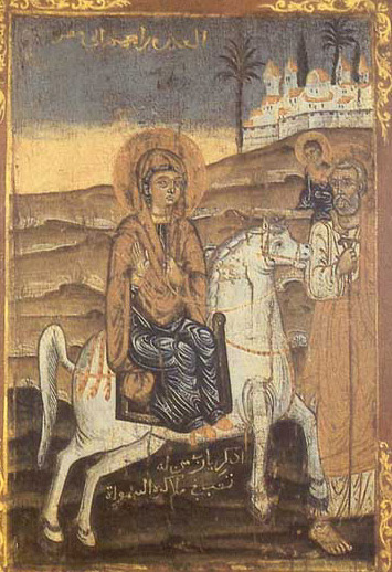 Icon of the Flight of the Holy Family