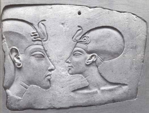 Egypt Picture Akhenaten And Nefertiti