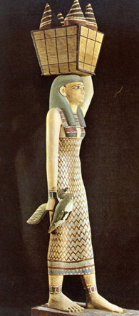 Model of a Servant Girl