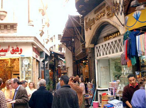 Market (Souq) in Old Cairo