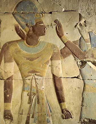 King Ramesses is Given Life by Horus