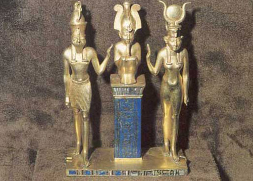 Gold Trinity of Osiris