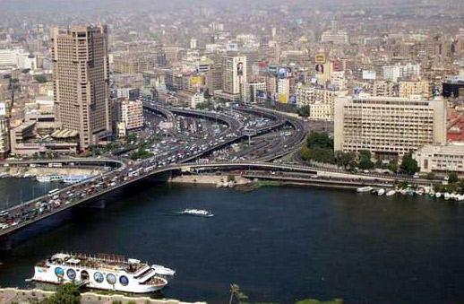 Cairo from Tower