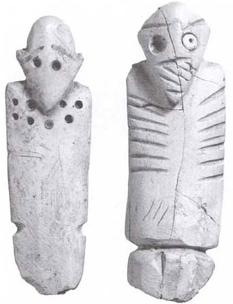 Carved Male Figurines