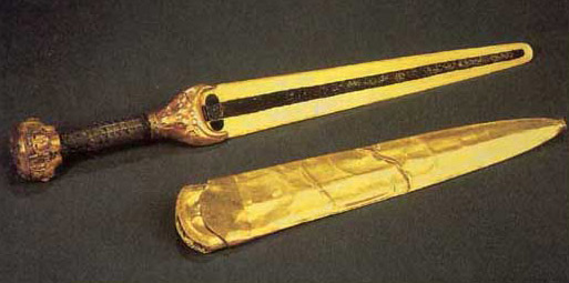 Ceremonial Gold Dagger