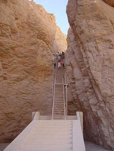 Stair to the Tomb of Tuthmosis III