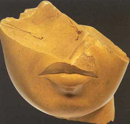 Fragment of the Head of Queen Tiye