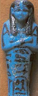 A ushabti of Queen Henuttawy I, wife of Pinedjem