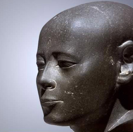 30th Dynasty Statue of Wesirwer, Prophet of Montu