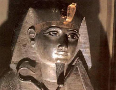 The Silver Funerary Mask of Psusennes