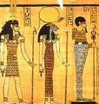 The Mennefer Triad - Nefertem, Sekhmet and Ptah