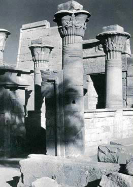 The Fifth Gateway in the Temple of Ptah at Karnak, showing a