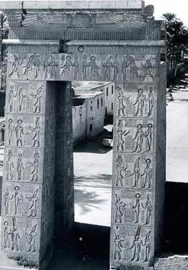 The Gate of Ptolemy III at Karnak