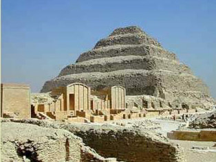 The Step Pyramid Complex at Saqqara