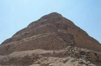 Djoser's Step Pyramid: Photo by Diaa Khalil