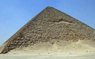 The Red Pyramid at Dashour