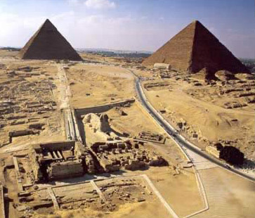 an introduction to the history of the building of the pyramids in ancient egypt An introduction to the archaeology of ancient egypt is a comprehensive overview  interest as building the pyramids at giza, mummification, and deciphering .