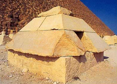 The Pyramidion of the Great Pyramid of Khufu at Giza