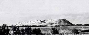 Another view of the mound of Kadesh