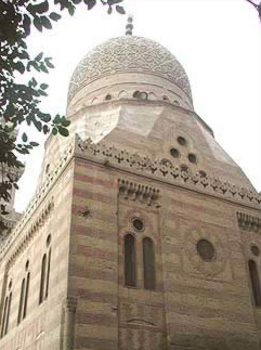 View of the Mausoleum dome