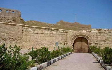 The Restored fortress at Al-Quseir