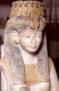 A bust of Merit-Amun