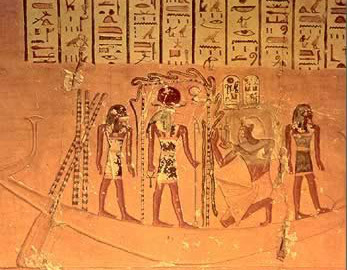 Egyptian Tomb Writing