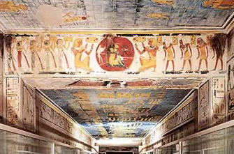 Image result for tomb of Ramesses IX