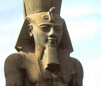 A Statue of Ramesses II