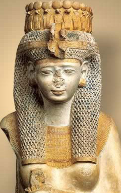 Meritamen, one of Ramesses II's favorite daughters, and later his wife