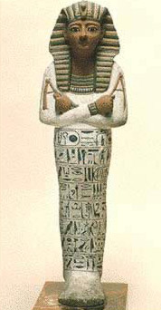 A Shawabty figure said to represent Ramesses IV