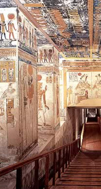 Image result for tomb of Ramesses VI