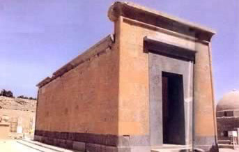 Red Chapel of Hatshepsut in the Open Air Museum at Karnak