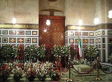 The tomb of the Shah  of Iran