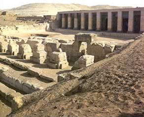 The mortuary temple of Seti I at Abydos