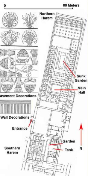 Plan of the Harem