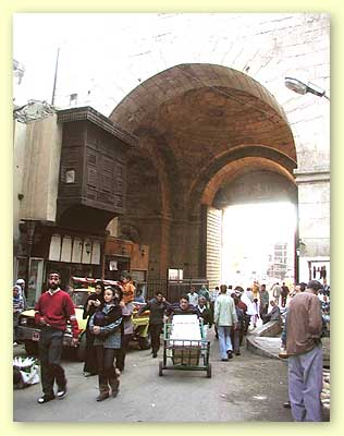 The sugar street and the Zuweila gate.