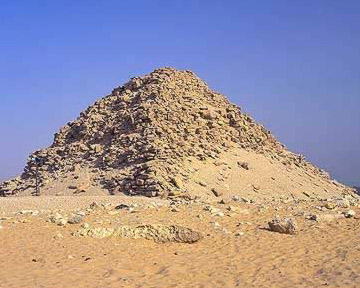 Another view of the Pyramid of Sahure at Abusir in Egypt