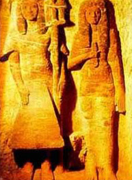 Statues from the Tomb of Mery-Sekhmet discovered by A. Zivie